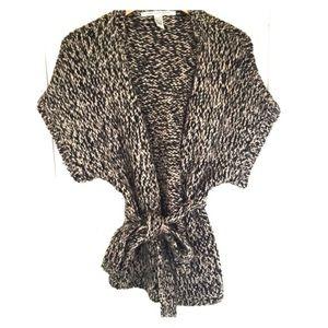 DVF Knit Wrap Sweater